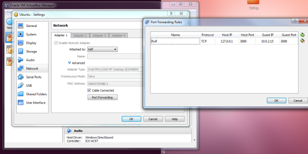virtualbox_port_forwarding